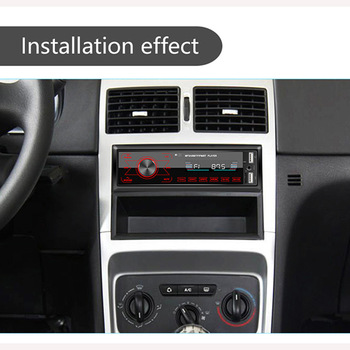 7 Spalvų Bluetooth Car Radio