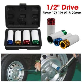 Auto Automobilis 4Pcs/set 17-19-21-22mm 1/2